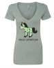 Horse of a Different Color Ladies' V-Neck