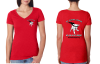 K9JL Ladies V-Neck tee