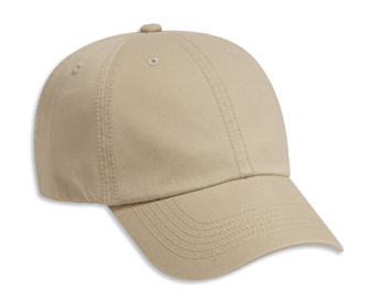 XCW Unstructured Cotton Twill Cap (Velcro Closure)