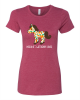 Horse of a Different Color Ladies' Fitted Tee