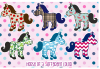 Horse of a Different Color Decal Sheet
