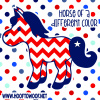 "Horse of a Different Color 5"" Decal"