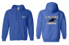 Sea Breeze Ponies Full Zip Hooded Sweatshirt
