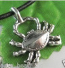 XCW Tibet Silver 3D Crabby Charm